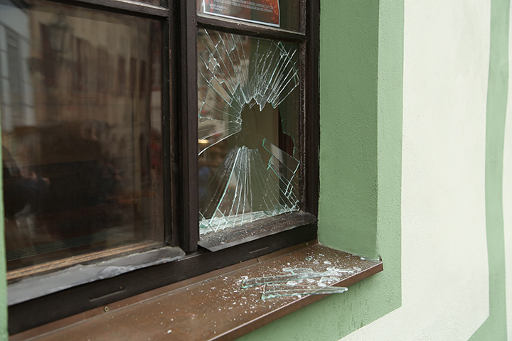 A2B Glass are able to board up broken windows while they are being repaired in Bexleyheath.